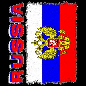 Flagge Russia Russland Fahne