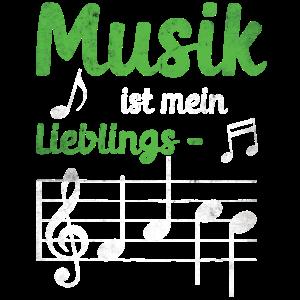 Musiklehrerin Musik ist mein Lieblingsfach