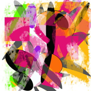 Farbig abstrakt