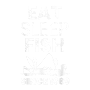 Herren Eat Sleep Fish Since 1969 Fishing 50th Birt