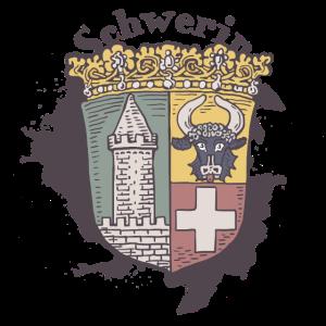 Schwerin altes Wappen Schwerin