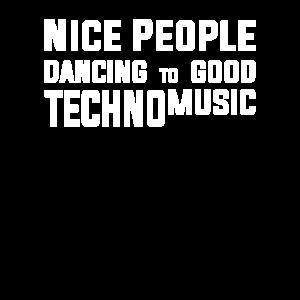 Techno Musik Tanzen Party Machen