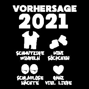 Vorhersage 2021 Baby Sohn Tochter Baby Zwillinge