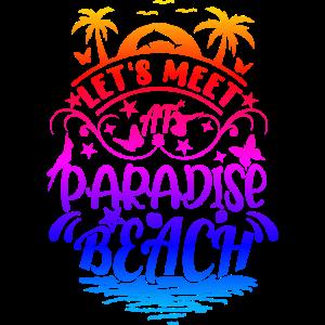 Paradise Beach Strand Sommer Sonne Paradies Urlaub