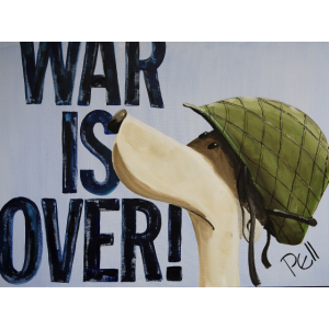 War is Over by Pell-art-Shirt