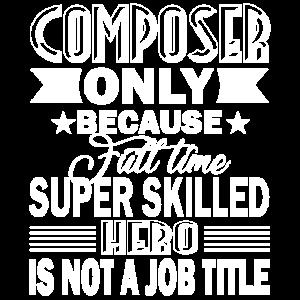Composer Composer Berufsbezeichnung
