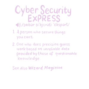 CYBER SECURITY: Cyber Security Definition