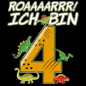 4. Geburtstag - Dinosaurier