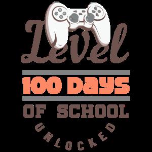 Level 100 Tage der Schule Unlocked Gamer Videospiel