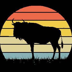Büffel Gnu