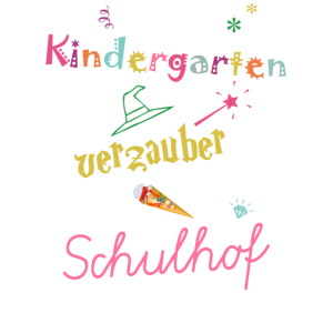 Tschüss Kindergarten Schulhof Zaubern Magie