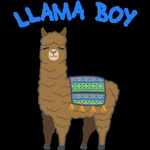 Lama Boy Alpaka Niedlich Geschenk Jungen