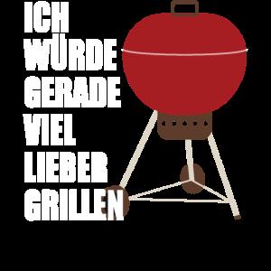 BBQ Barbecue Grill Spruch Lustig Geschenkidee