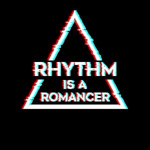 Rhythm is a Dance Music Techno - Glitch Effect