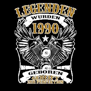 Geschenk Zum 30. Geburtstag Legende 1990