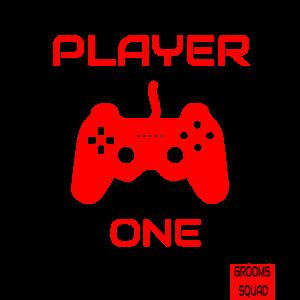 Funny JGA Mottoshirt Player One Retro Gamer