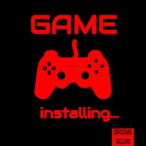 JGA Teamshirts Funny Gamer| Retro |