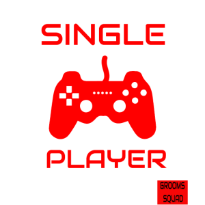 Funny JGA Retro Single Player Teamshirts