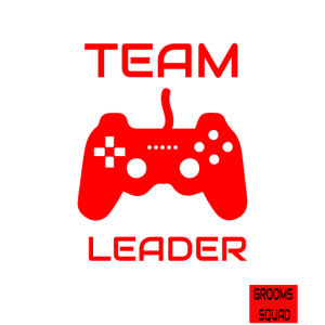 Funny Team Leader Retro Gamer JGA Mottoshirt