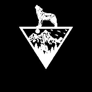 Wildnis Heulender Wolf Natur Geschenk