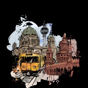 Berliner U-Bahn Collage