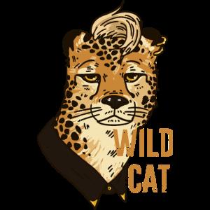 Wild Cat mit Irokesenschnitt
