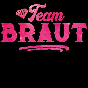 Team Braut Hochzeitsfeier