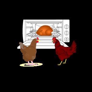 Grill hühnchen lustig shirt hühner huhn