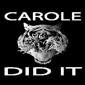 Carole hat es geschafft, Carole Baskin, Joe Exotic, Tiger