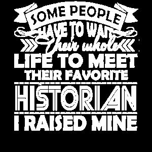 Historiker Stolzer Historiker Elternteil