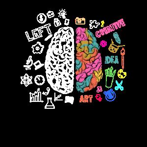 Super Geeky Nerd Brain Science Spaß Geschenk