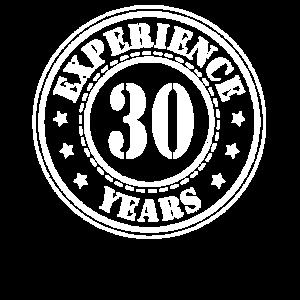 30 Jahre Erfahrung