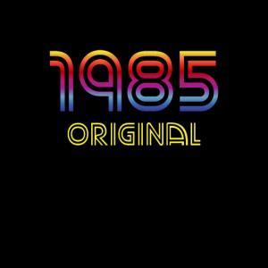 1985 Original Retro Geburtstag 80er Arcade 80's