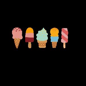 Ice Cream Summer Shapes