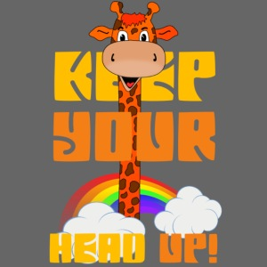 Giraffe - keep your head up!
