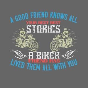Biker stories.