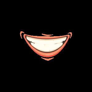Schönes breites Lächeln