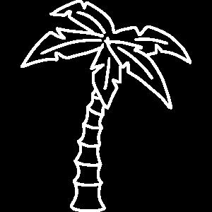 Sketch Palme Urlaub