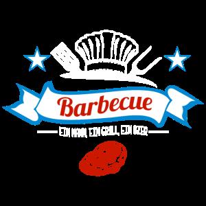 Barbecue - Ein Mann, ein Grill, ein Bier