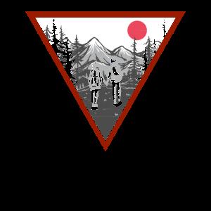 Wandern Berge Natur Bergsteiger Geschenk