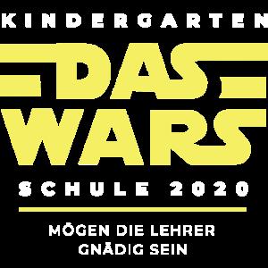 Kindergarten das wars - Geschenk Einschulung