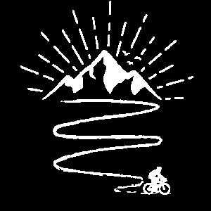 Radfahrer MTB Mountainbike Fahrrad Downhill