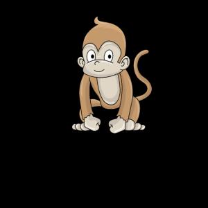 kleiner Affe Äffchen Geschenkidee
