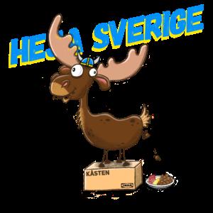 Heja Sverige - Schweden Elch