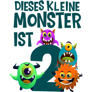 2. Geburtstag Monster