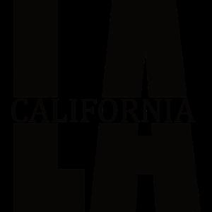 LA California schwarz