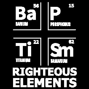 BaPTiSm | Gerechte Elemente - christliches Geschenk