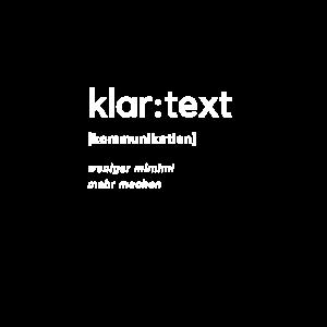 klar:text