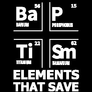 BaPTiSm | Elemente, die retten - christliches Geschenk