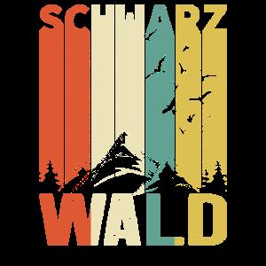 Retro Schwarzwald Wald Natur Schwaben Geschenk